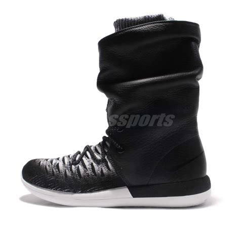 Nike Roshe Two Import wmns nike roshe two hi flyknit 2 hi top black boots sneakerboot 861708 002 ebay