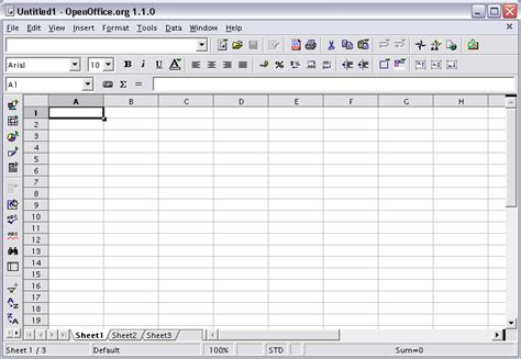 Open Office Spreadsheet by Articles Osa
