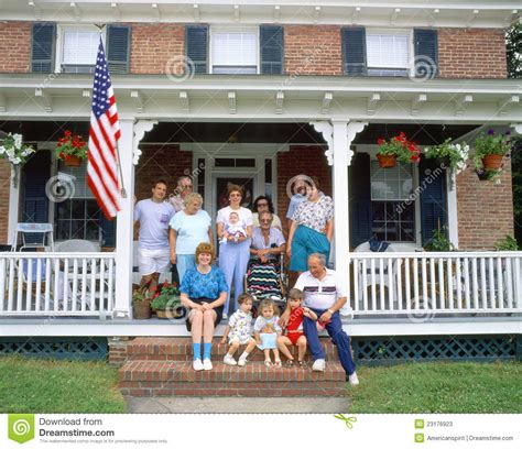 Family Porch family on porch editorial stock photo image 23176923