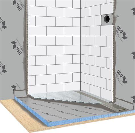 durock shower system ispira guide shower valves