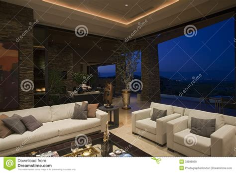 Living Room Nightclub Ischgl Luxury Living Room In House At Stock Image Image