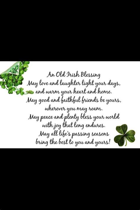 1000  images about irish blessings on Pinterest   Luck of