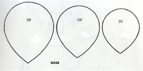 petal shape template image gallery petal shape
