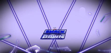 Smackdown Match Card Template by Match Card Templates Amino