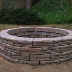 Home Depot Firepits How To Build An Above Ground Pit Garden Club