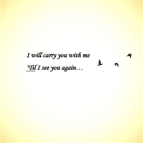 heartbeat tattoo until i see you again i will carry you with me tattoos pinterest stay