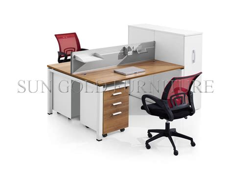 round office desk modern appearance 4 person workstation cubicle round