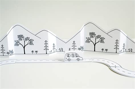 printable paper roads made by joel 187 paper city road trip