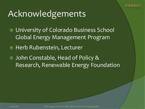 Mba Alternative Energy by Is The Renewable Energy Foundation Right About Uk Wind