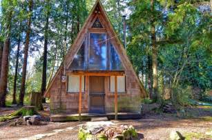 Small A Frame Cabin by A Frame Tiny House Swoon