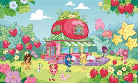 wallpaper cartoon strawberry strawberry shortcake backgrounds wallpaper cave