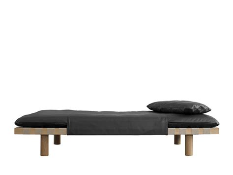 Futon Holz by Pulpo Shop Day Bed Pallet Black Nature