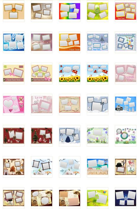collage maker templates free photo collage templates photo collage maker