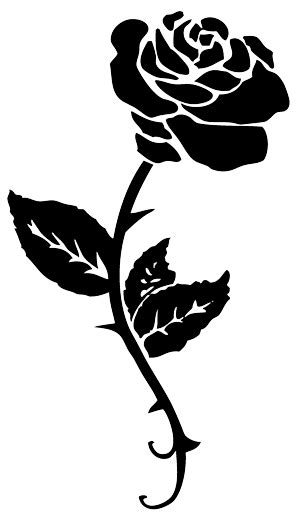 free rose tattoo png transparent images download free
