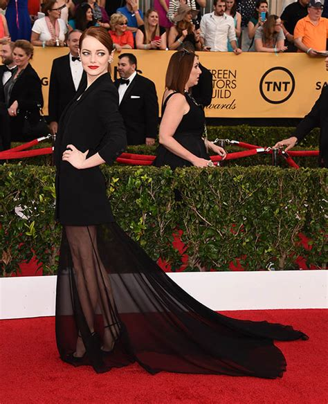 Sag Awards Trend Alert The Blues by Photos 2015 Screen Actors Guild Awards Carpet