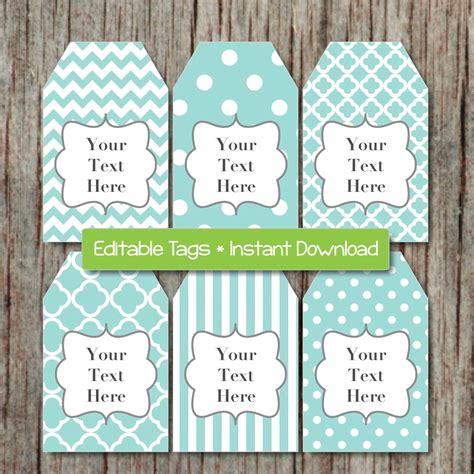 free printable editable gift tags search editable printable labels gift tags thank you tags jpg file