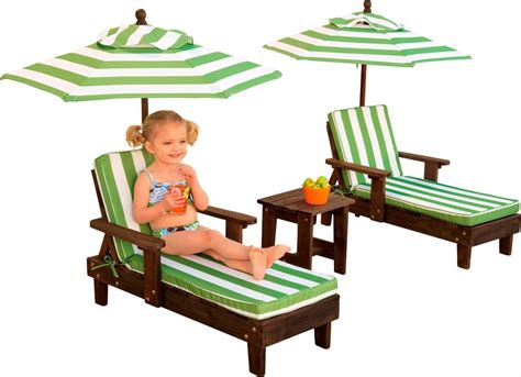 kids chaise lounge chair kidkraft outdoor chaise lounge chairs and umbrella set