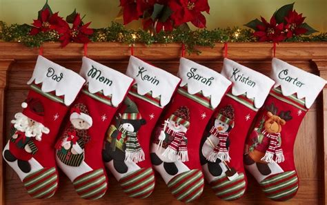 personalized christmas stockings the answer to your
