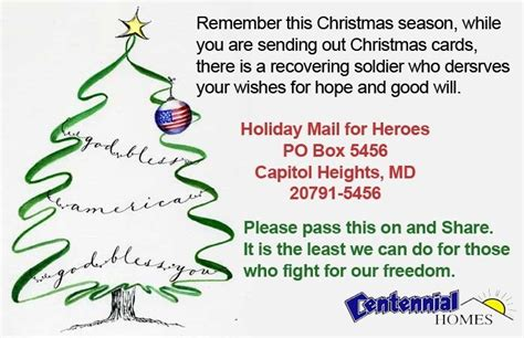 Send A Gift Card By Mail - send a christmas card to a soldier homeminecraft