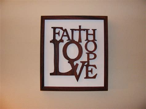 home decor love faith hope love home decor rosewood wall art