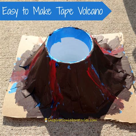 How Do You Make A Volcano Out Of Paper Mache - 10 ways to make a volcano with inspiration laboratories