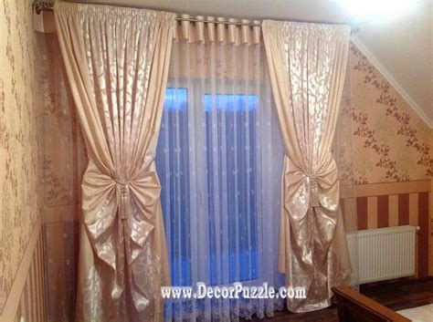 style of curtains new curtain styles and designs 2017 for all rooms decor