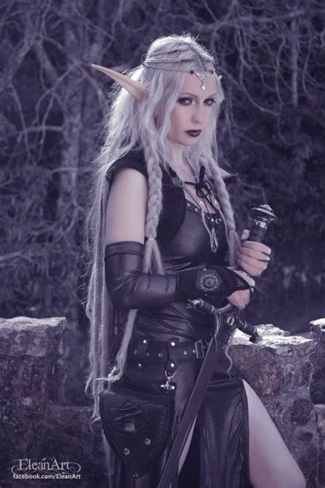 female elf white hair cosplay pin by andrea hall on elves and faeries 4 pinterest