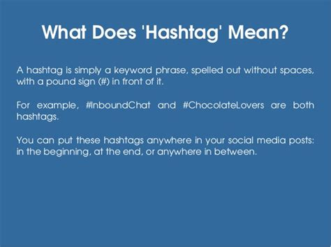 What Does Hashtag Mean | tips to use hashtags on social media