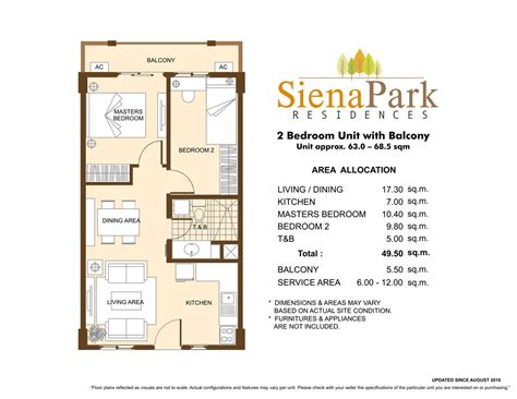 50 sqm home design siena park residences dmci homes sales condo for sale