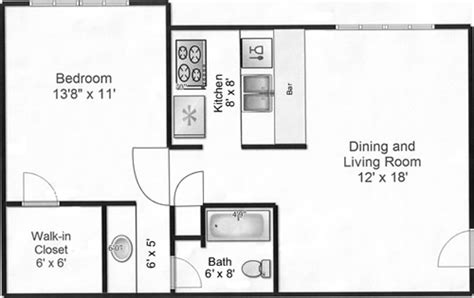 500 square feet apartment floor plan floor plans seville apartments odessa texas