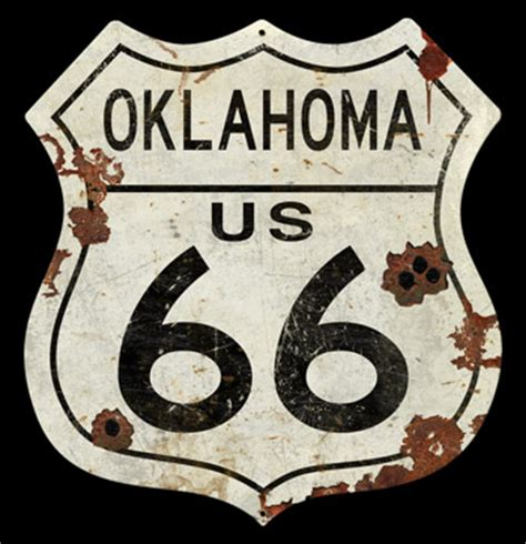 Pin Ok Sign oklahoma route 66 vintage sign signs signs for sale