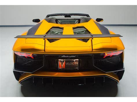 Lamborghini 750 Sv by Lamborghini Aventador Lp 750 4 Superveloce Roadster Listed