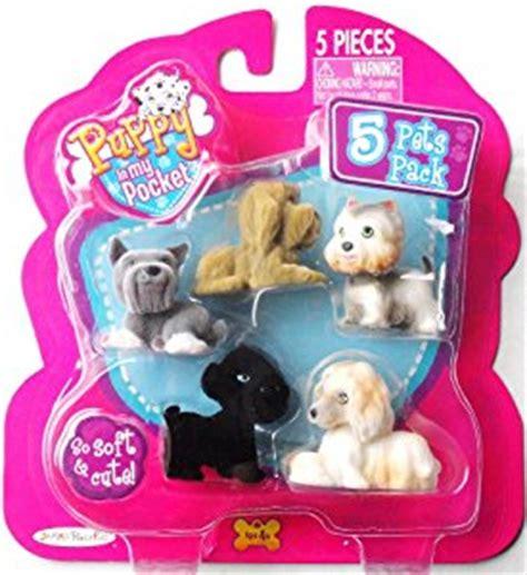 pocket puppies toys puppy in my pocket 5 pets pack briard west highland terrier schnauzer