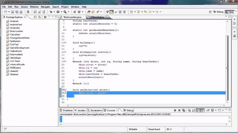 getter setter java definition java tutorial 34 getter und setter youtube