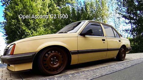 opel ascona tuning opel ascona c i500 ken eichhorn auf tour bautzen