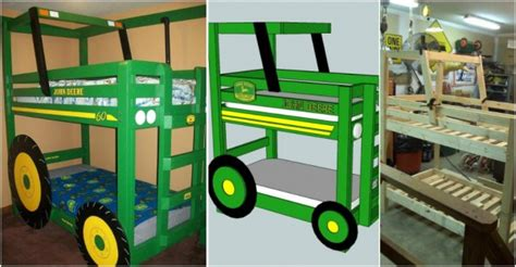 Tractor Bunk Bed Plans Tractor Bunk Bed Plans Diy Woodworking Projects
