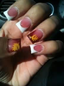 fall color acrylic nails fall acrylic nails nail ideas