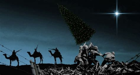 history repeating  war  christmas