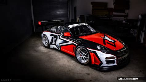 3 Car Garage Designs team blackstar porsche 911 cup car ki studios