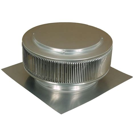 active ventilation 12 in mill finish aluminum roof vent