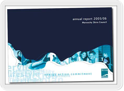 design cover annual report annual report