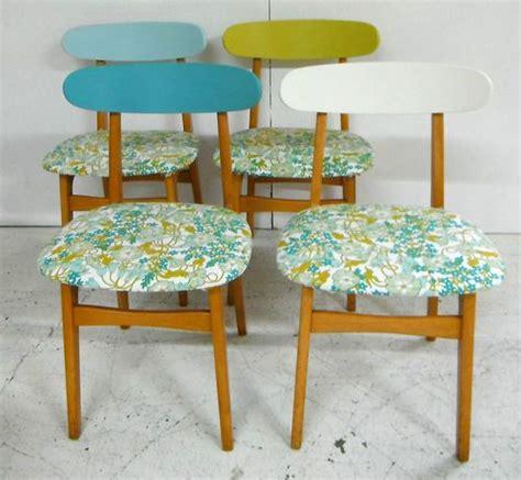 retro 60s 70s kitchen dining chairs vintage sanderson