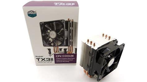 Cooler Master Hyper Tx3 Evo disipador cooler master hyper tx3 evo en espa 241 ol montaje