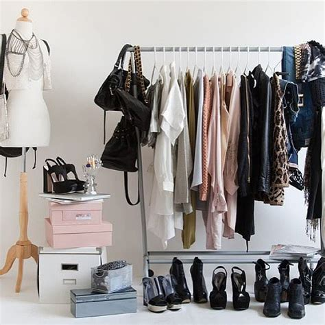 Stylish Fashion Closet by Style A Clothing Rack 8 Ways Instagram Can Turn You Into