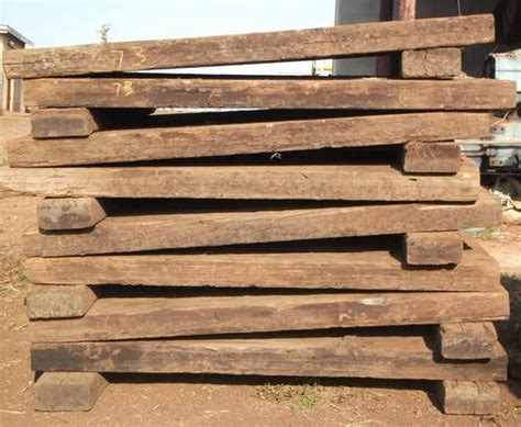 Wooden Sleepers Sleepers A Grade Wooden Railway Sleepers For Sale Was