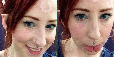 tato di kelopak mata tato mata tren baru yang sangat ekstrem merdeka com