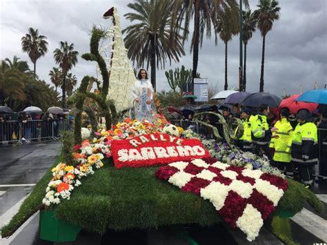 carnevale dei fiori sanremo sanremo il carnevale dei fiori nonostante le nuvole 1