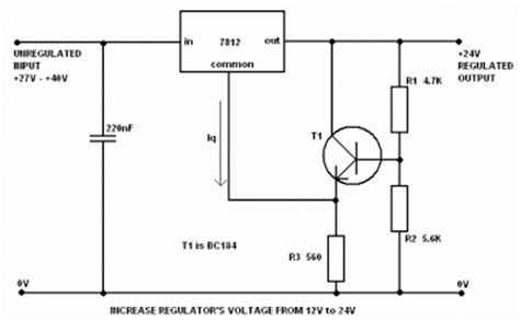 what does a 12 volt resistor do build a voltage regulator 12v to 24v using 7812 wiring diagram remote