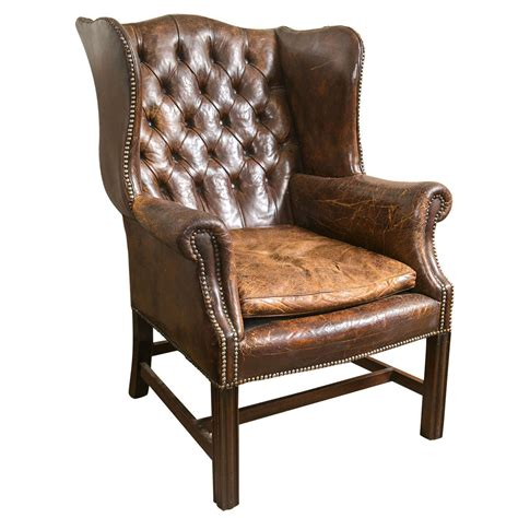 Leather Wingback Chair Design Ideas Leather Wingback Chair Premium Leather Wingback Chair 100 Antique Leather Wingback Chair