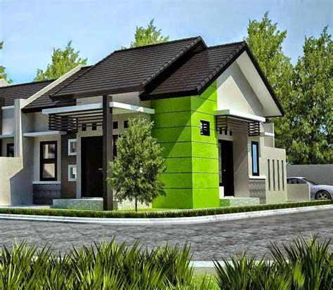 kombinasi warna cat plafon hijau gambar minimalis
